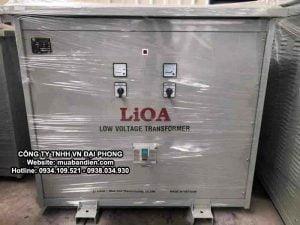 Biến Áp LiOA 20kVA 3 Pha Cách Ly Chính Hãng 380V/200V/220V