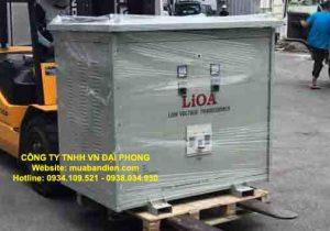 Biến Áp LiOA 250kVA 3 Pha Cách Ly Chính Hãng 380V/200V/220V