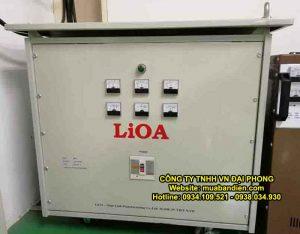 Biến Áp LiOA 320kVA 3 Pha Cách Ly Chính Hãng 380V/200V/220V