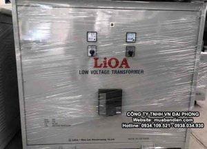 Biến Áp LiOA 560kVA 3 Pha Cách Ly Chính Hãng 380V/200V/220V