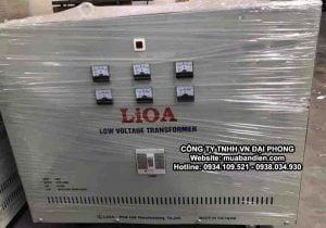 Biến Áp LiOA 80kVA 3 Pha Cách Ly Chính Hãng 380V/200V/220V