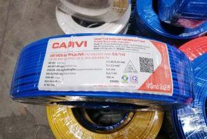 CADIVI VCmd 2x2.5mm2 0,6/1kV - Dây Cáp Điện Dân Dụng CADIVI