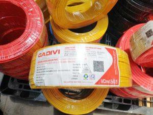 Cáp Điện CADIVI CV, VCMO, VCMD, 1.5 - 2.5 - 4.0 - 6.0