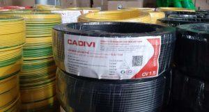 Cáp Ngầm Hạ Thế CADIVI CV - 25mm2 0.6/1kV