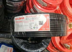Cáp Ngầm Hạ Thế CADIVI CV - 10mm2 0.6/1kV