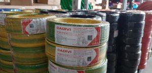 Cáp Ngầm Hạ Thế CADIVI CV - 2.5mm2 0.6/1kV