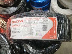 Cáp Ngầm Hạ Thế CADIVI CV - 6mm2 0.6/1kV