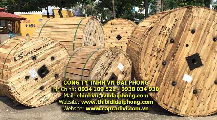 Cáp Ngầm Trung Thế 24kV LS VINA - CU/XLPE/PVC/DSTA/PVC