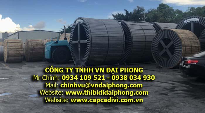 Cáp Ngầm Trung Thế LS VINA 24kV - 36kV - 40kV