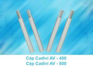 Cáp Nhôm CADIVI AV 400mm2, AV 500mm2, AV 630mm2 0.6/1kV