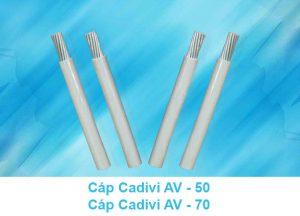 Cáp Nhôm CADIVI AV 50mm2, AV 70mm2 0.6/1kV - Cáp Hạ Thế CADIVI