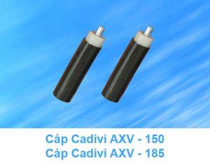 Cáp Nhôm CADIVI AXV - 150mm2, AXV - 185mm2 0.6/1kV