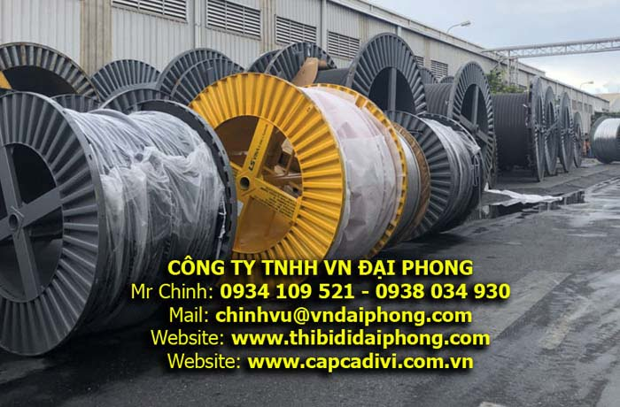 Cáp Trung Thế LS VINA 3x50mm2 24kV - Tồn Kho Giao Hàng Ngay