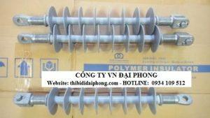Chuỗi Cách Điện Treo DTR Polymer 24kV - 35kV