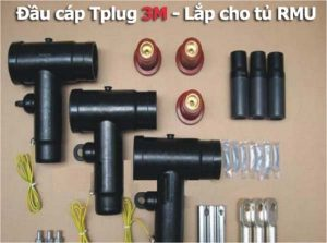 Đầu Cáp T-Plug 3M Lắp cho Tủ RMU