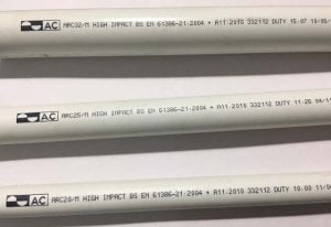 Ống Luồn Dây Điện Tròn PVC AC - ARC 16, ARC 20, ARC 25, ARC 32