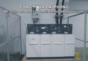 Tủ Trung Thế RMU Schneider RM6 4 Ngăn RE-DIDI 24kV 630A 20kA/3s
