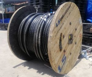 Cáp Ngầm Trung Thế LS VINA Cu/XLPE/PVC/SWA/PVC Giáp Sợi Thép
