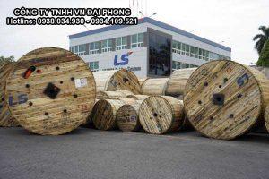 Cáp Ngầm Trung Thế Cu/XLPE/PVC 3x150mm2 LS VINA 3 Lõi 3.6/6(7.2)kV