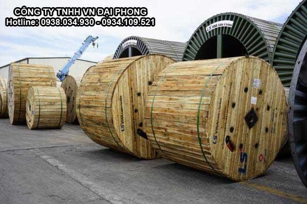 Cáp Ngầm Trung Thế Cu/XLPE/PVC 3x240mm2 LS VINA 3 Lõi 3.6/6(7.2)kV