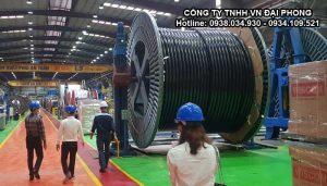 Cáp Ngầm Trung Thế Cu/XLPE/PVC/DATA/PVC 1x1000mm2 LS VINA 3.6/6(7.2)kV