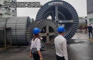 Cáp Ngầm Trung Thế Cu/XLPE/PVC/DATA/PVC 1x630mm2 LS VINA 3.6/6(7.2)kV