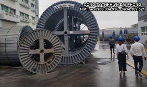 Cáp Ngầm Trung Thế Cu/XLPE/PVC/DATA/PVC 1x800mm2 LS VINA 3.6/6(7.2)kV