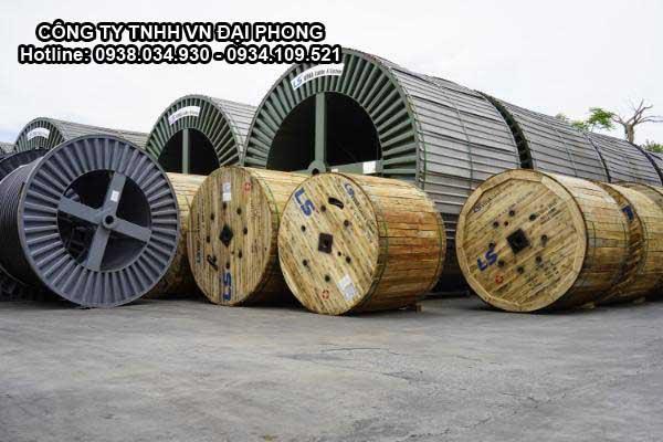 Cáp Ngầm Trung Thế Cu/XLPE/PVC/SWA/PVC 3x25mm2 LS VINA 3.6/6(7.2)kV