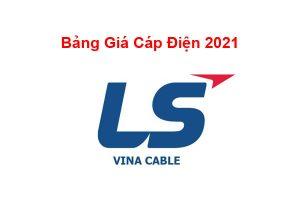 Báo Giá Dây Cáp Điện LS Vina - Cáp Ngầm Trung Thế LS Vina 2021 Mới Nhất