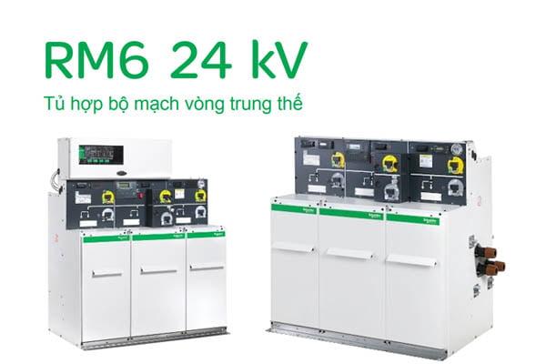 Tổng Quan Về Tủ Điện RMU Schneider 24kV (Catalogue - Báo Giá)