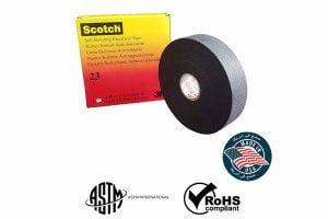 Băng Cao Su Cách Điện 3M - Scotch 23 [Catalogue và Bảng Giá]