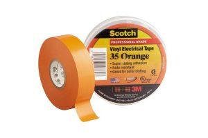 Băng Keo Cách Điện 3M Màu Cam - Scotch 35 Orange