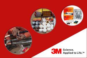 Hộp Nối Cáp Trung Thế 3M (3 Pha, 35kV) - Quấn Băng Đổ Nhựa Resin