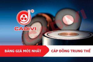 [CẬP NHẬT] Bảng Giá CADIVI Tháng 5/2021 - Cáp Đồng Trung Thế