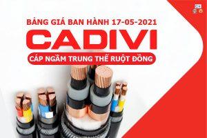 Cáp Đồng Ngầm 24kV CADIVI [Báo Giá Tốt Nhất Tháng 5-2021]
