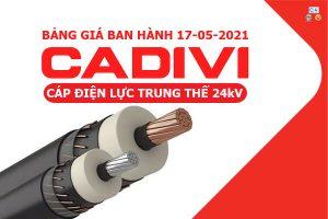 Dây Cáp Điện Trung Thế CADIVI [Báo Giá Tốt Nhất Tháng 5-2021]