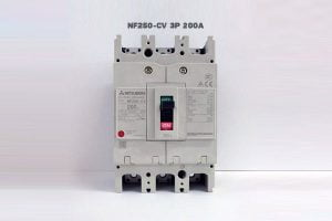[Báo Giá] NF250-CV 3P 200A 25kA | Aptomat Khối MCCB Mitsubishi