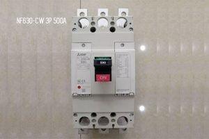 [Báo Giá] NF630-CW 3P 500A 36kA | Aptomat MCCB Mitsubishi